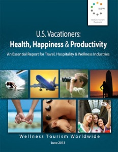 Report Cover U.S. Vacationers - Health, Happiness & Productivity