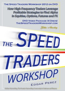 The Speed Traders Workshop 2012 DVD (Front)