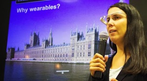 Cecilia Abadie - Founder - 33Labs - Keynote Speaker - Wearable Computing Conference 2013