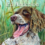 Ed Anderson Awarded a One Month Solo Art Exhibition